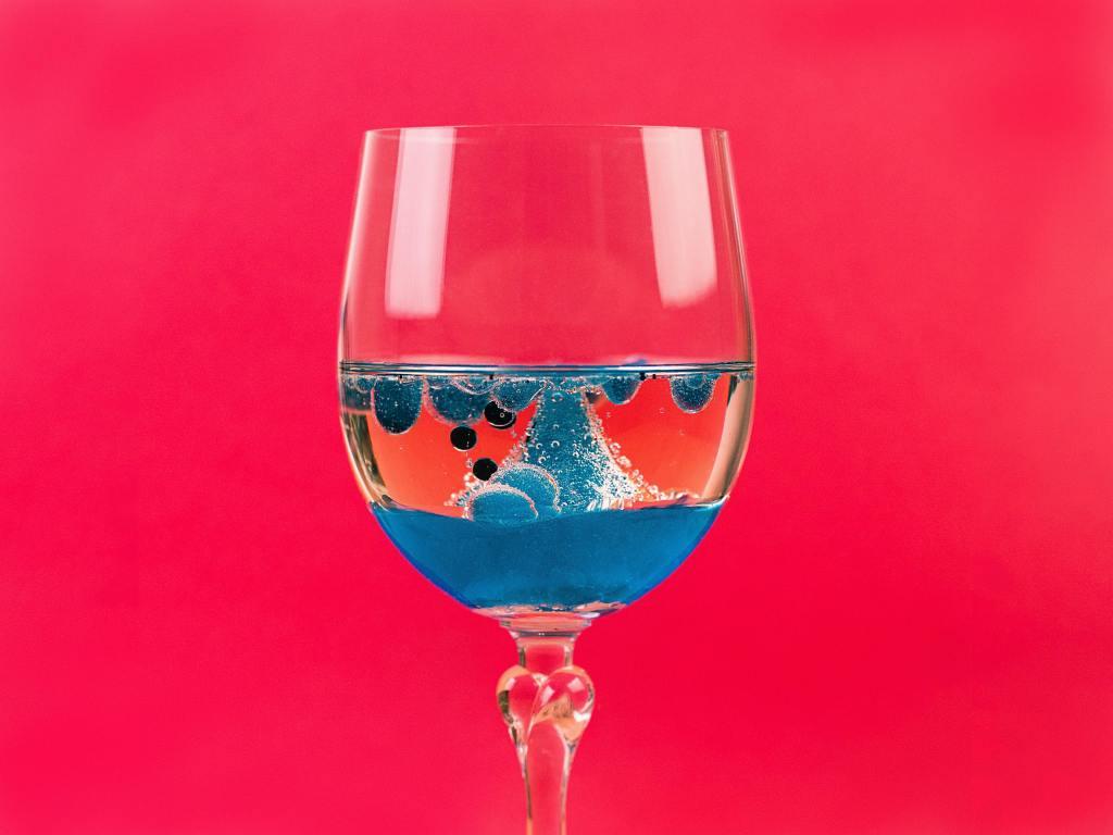 wine blue inflammation